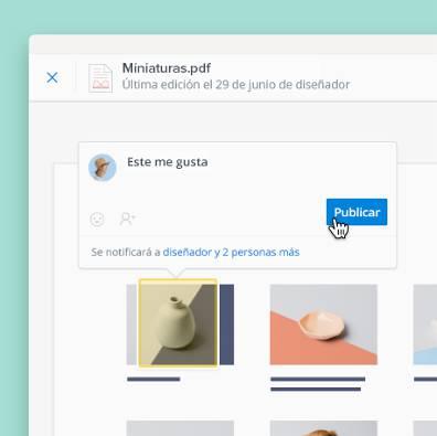 Anota PDF, imágenes y documentos cargados en Dropbox