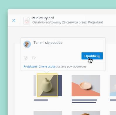 Dodawaj adnotacje do plików PDF, obrazów i dokumentów przesłanych do Dropbox