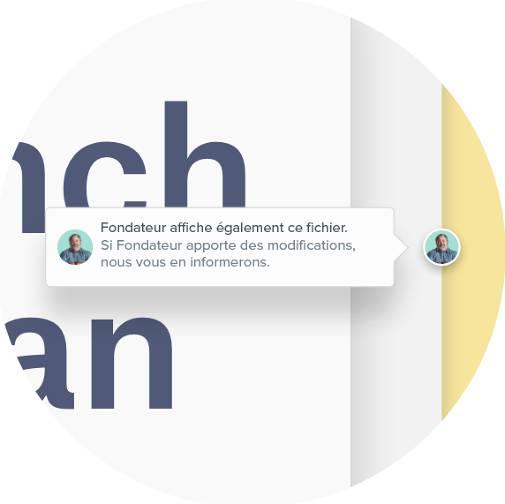Collaboration en équipe grâce au Badge Dropbox