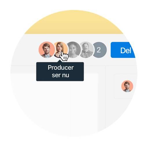Spring over opfølgende e-mails ved at se, hvem i teamet der har set din fil (og hvornår).