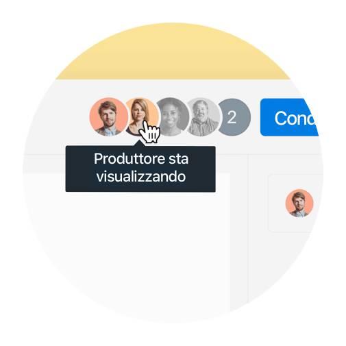 Salta l'email di follow-up sapendo chi nel tuo team ha visualizzato il file (e quando lo ha visualizzato).