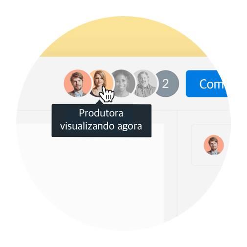 Elimine o e-mail de acompanhamento, vendo quem em sua equipe visualizou seu arquivo (e quando).