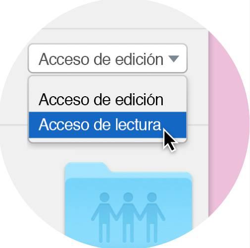 Uso compartido seguro en Dropbox