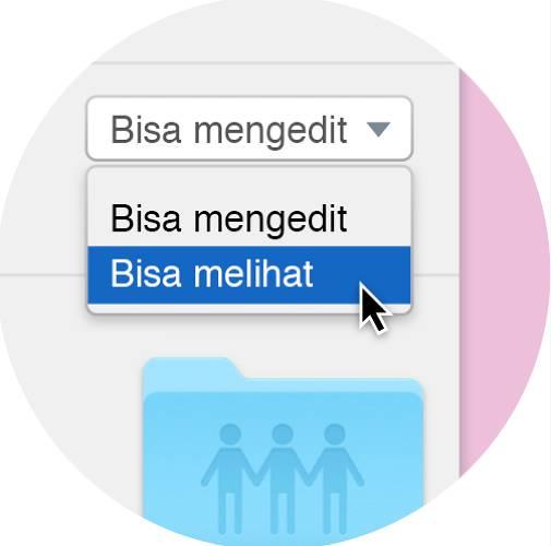Amankan berbagi file dengan Dropbox